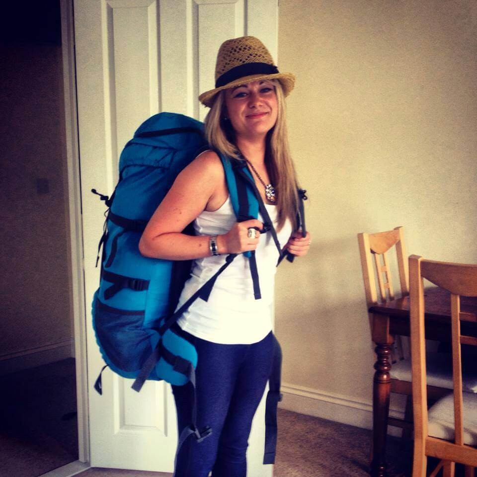 Suitcase Six linsday-backpack Woman of the Week: Lindsay