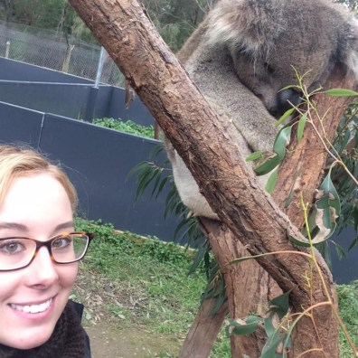 Suitcase Six selfie_koala_healesvilleanimalsanctuary_australia Top Unexpected Travel Careers: Jobs That Allow You to Travel That Aren't in the Travel Industry
