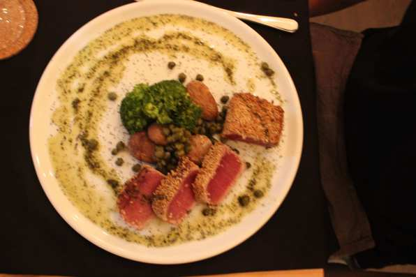 Suitcase Six tunasteak From Codfish to Cozido: 5 Places to Eat in the Azores