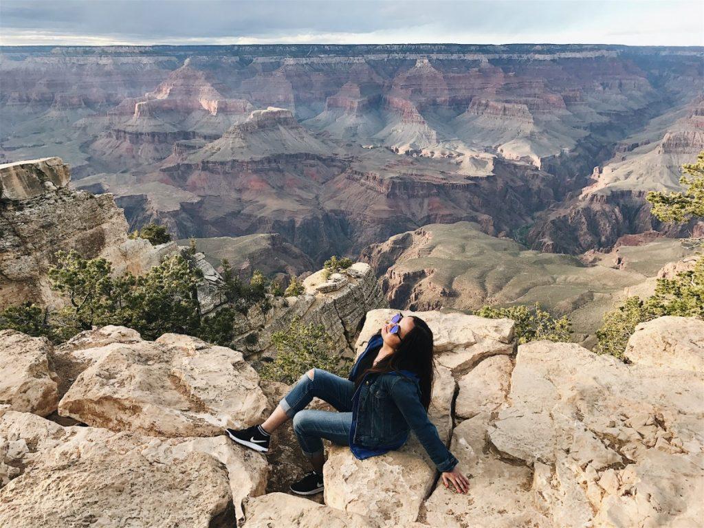 Suitcase Six Kate-Grand-Canyon-Arizona-1024x768 Woman of the Week: Kate