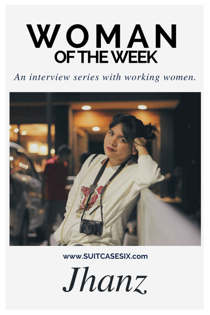 Suitcase Six Jhanz-pin-683x1024 Woman of the Week: Jhanz