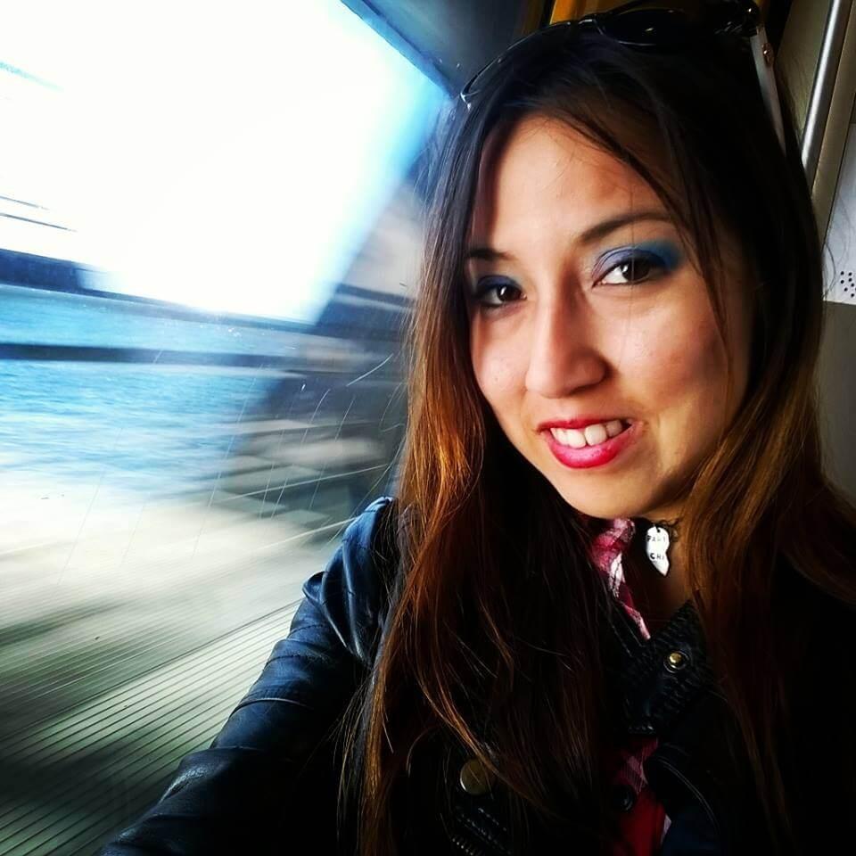 Suitcase Six Karem-on-the-train Woman of the Week: Karem