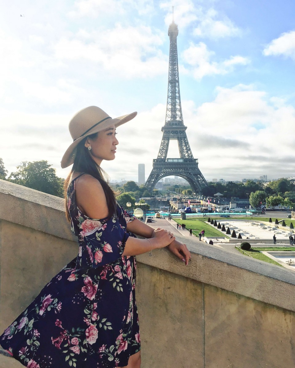 Jasmine by the Eiffel Tower