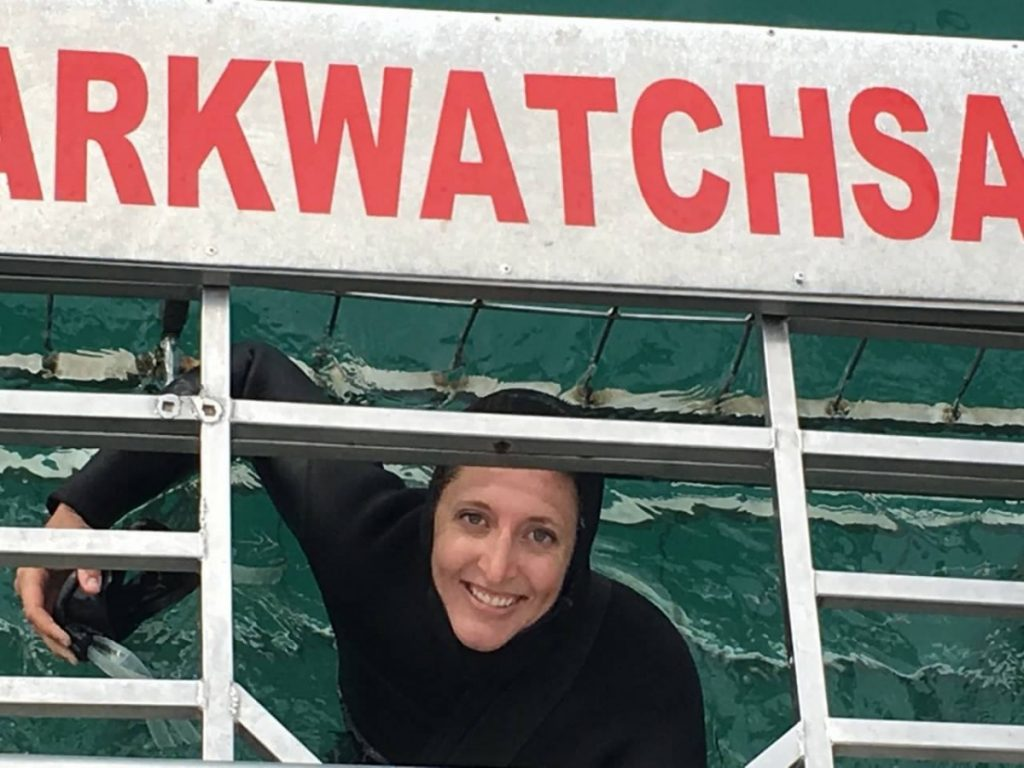 Suitcase Six Kim-Diving-with-Sharks-e1525272183612-1024x768 Woman of the Week: Kim
