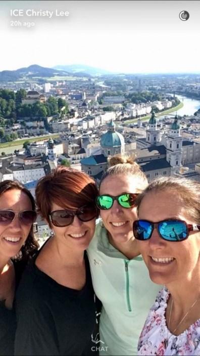 Suitcase Six Kim-in-Salzburg Woman of the Week: Kim