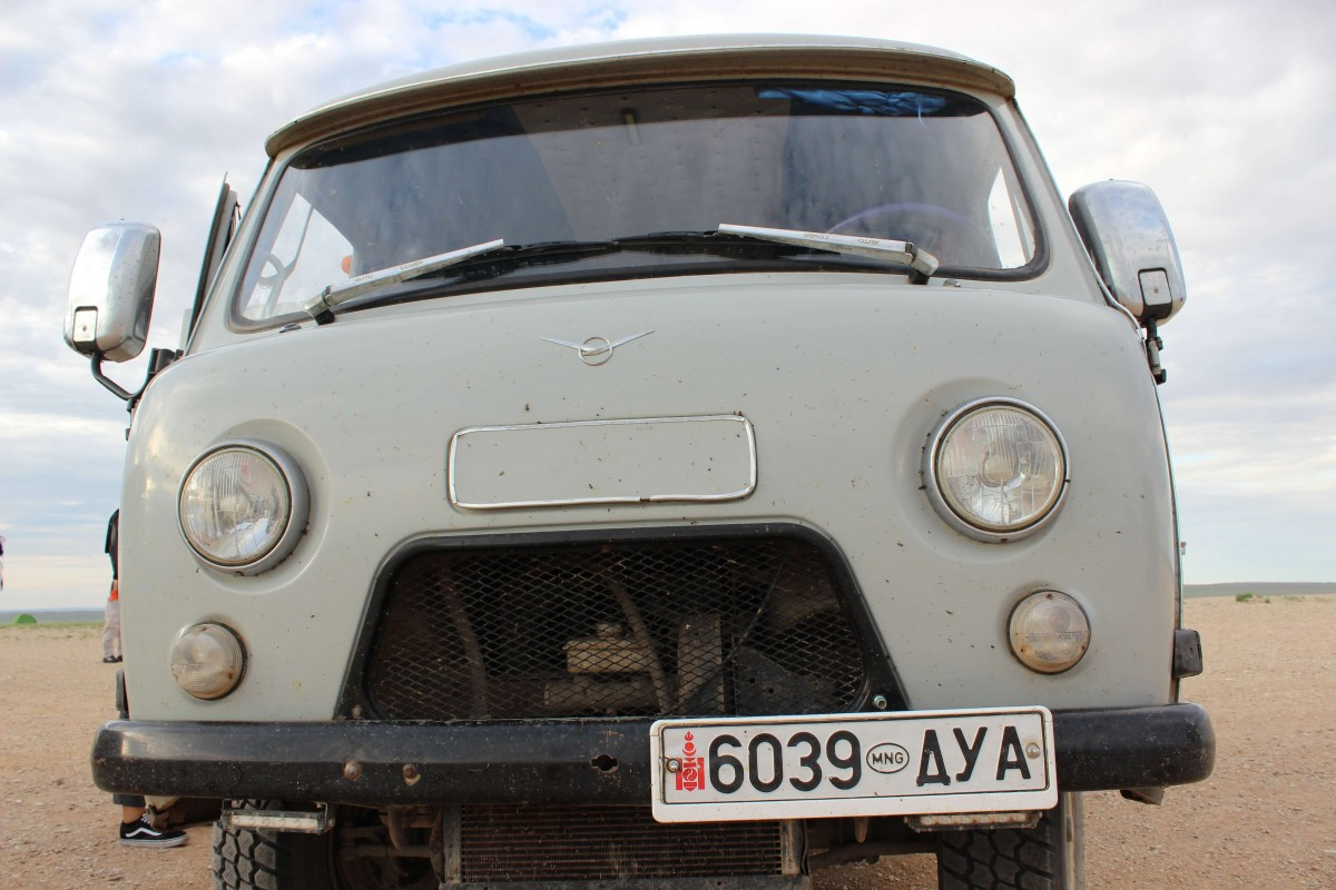 Suitcase Six Soviet-van One Week in Mongolia: A Sunpath Tour Adventure