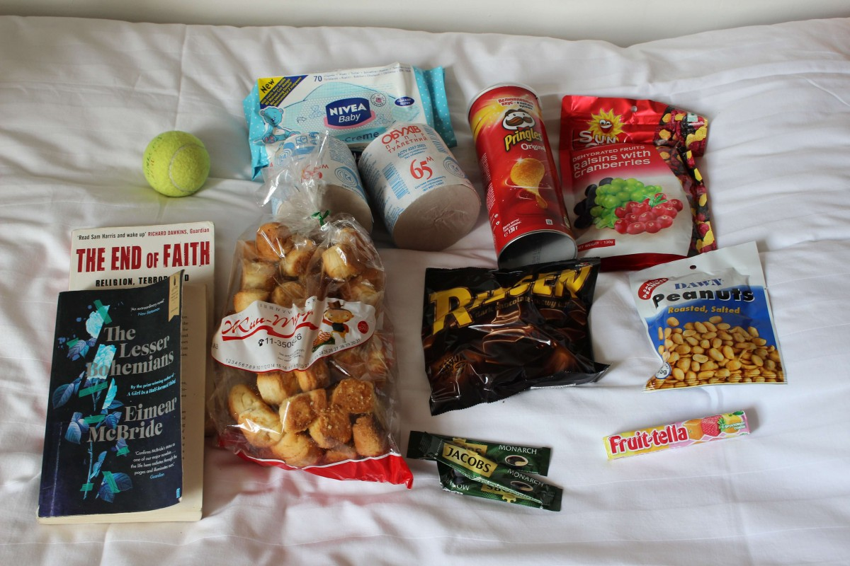 Suitcase Six snacks-supplies Mongolia Travel: What To Pack For Mongolia