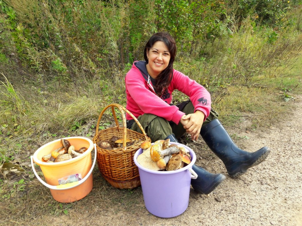 Suitcase Six Mushroom-hunting-1024x768 Woman of the Week: