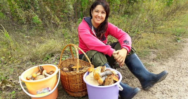 Suitcase Six Mushroom-hunting Woman of the Week: