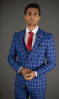 Needle & Stitch 3Pc Windowpane Suit – NS2DG+V-13776