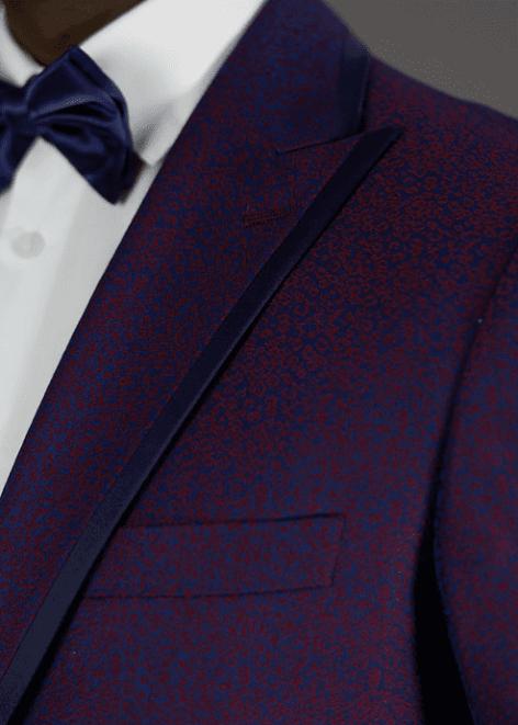 Needle & Stitch Textured 3 Pc Tuxedo – NS2CAL+V-329