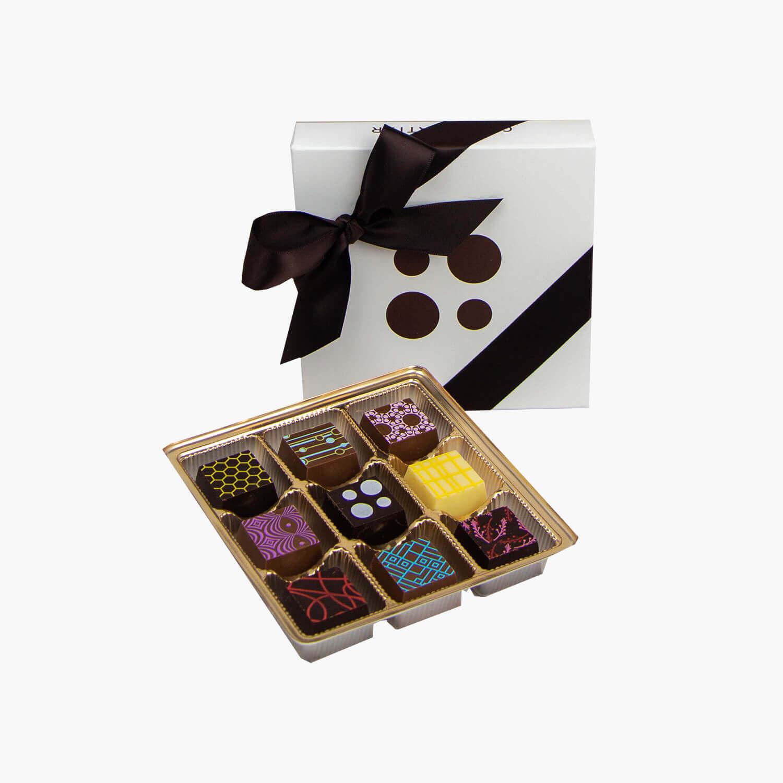box of 9 mosaiques