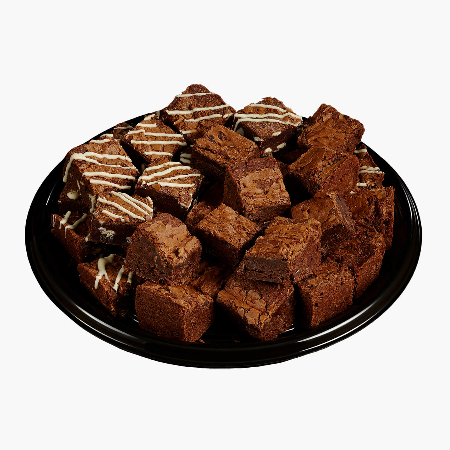 assorted brownies platter