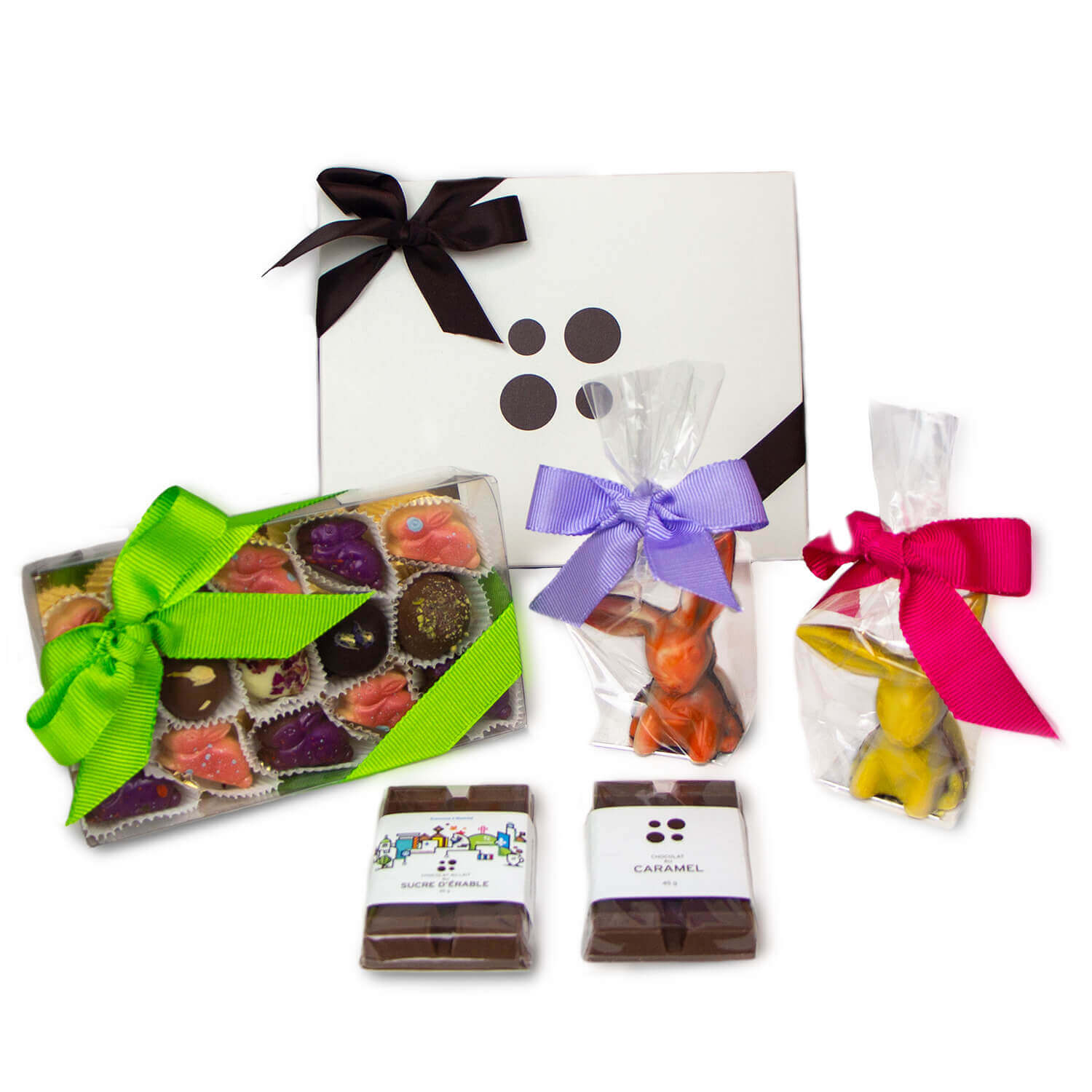 Easter gift box contents