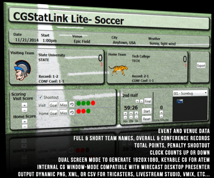 Product Header- Soccer Lite