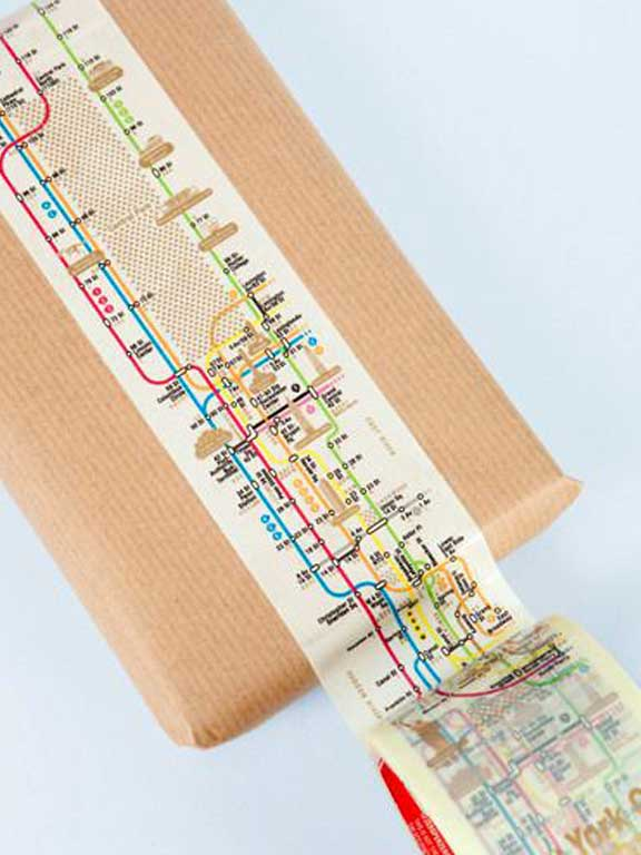 Patterned Packing Tape
