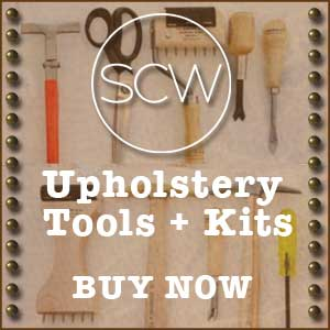 Ad for SCW Upholstery Tools and Kits
