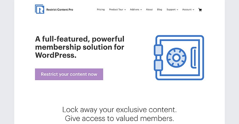 Restrict Content Pro To Monetize Your Ultimate Member Site
