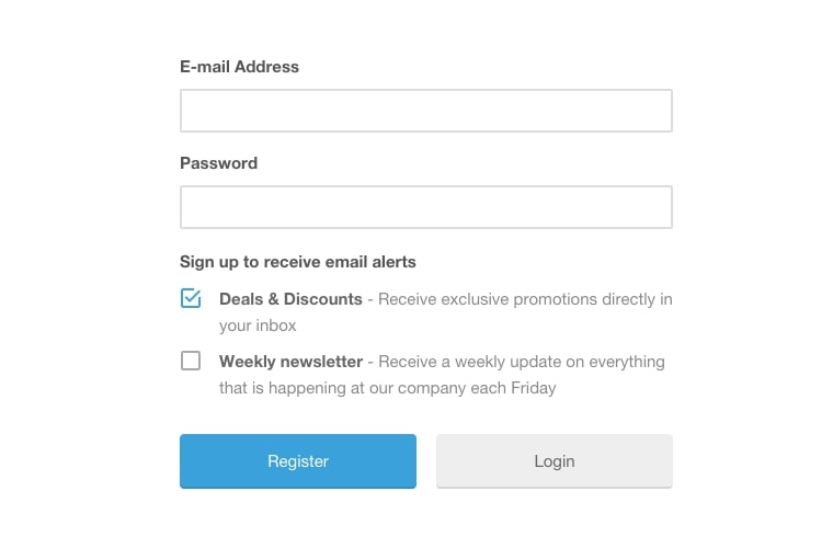 Mailchimp Opt in