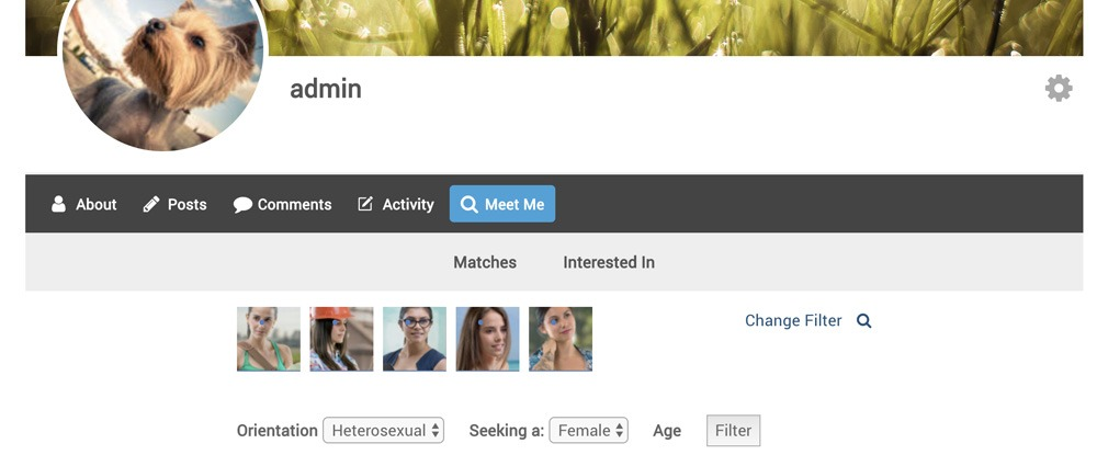 how to change your profile picture on meetme