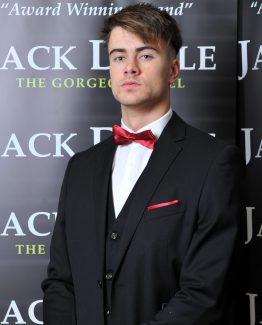 Black Three Piece Jack Doyle Suit Suit Distributors Cork