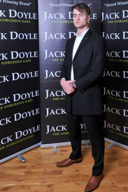 Long Black Jack Doyle Jacket Suit Distributors Cork