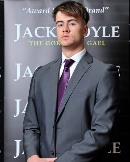 Dark Grey Two Piece Jack Doyle Suit Suit Distributors Cork