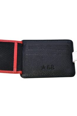 Best Leather Wallet, Card Holder & Best Black Belt Box Set 3