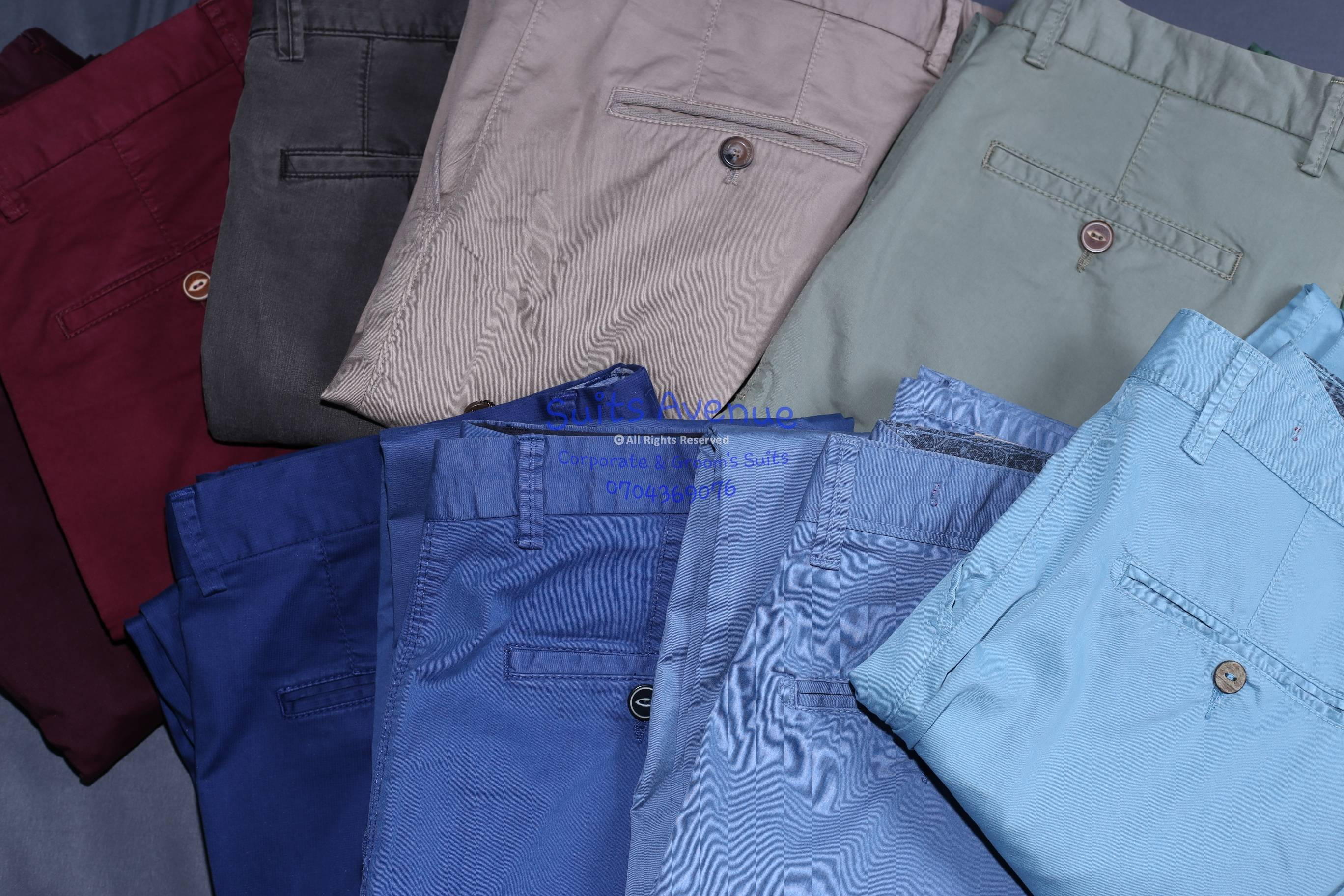 Khakis for men
