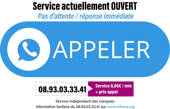 bouton contacter service client