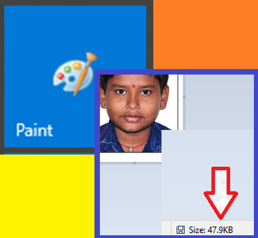 HOW TO RESIZE PHOTO IN MS PAINT