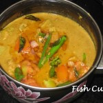 Fish Curry with Fresh Coconut Masala