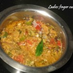 Ladies finger curry/ Vendaikaai mandi