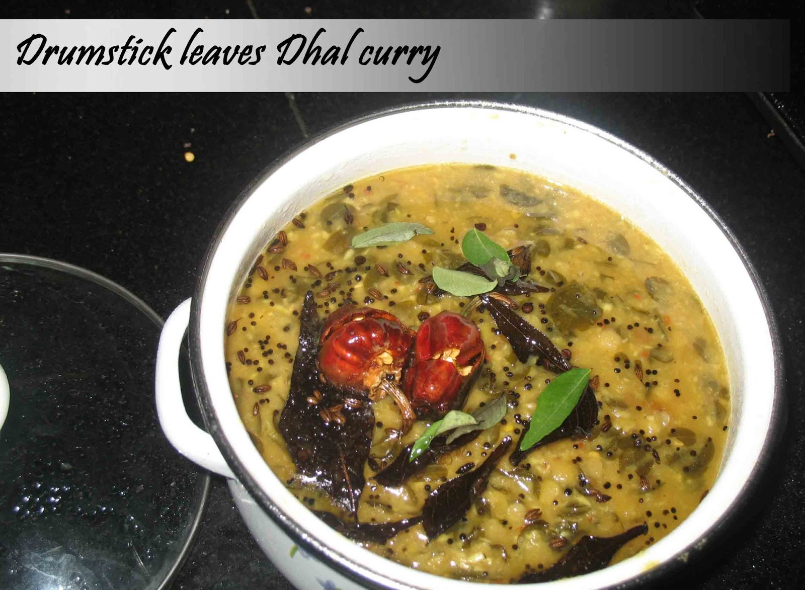 Drumstick Leaves Dhal curry