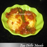 Egg Chillie Masala