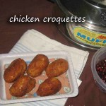 Chicken Croquttes- First Guest Post