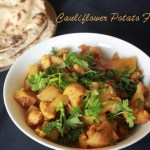 Cauliflower Potato Fry/Gobi Aloo Subji