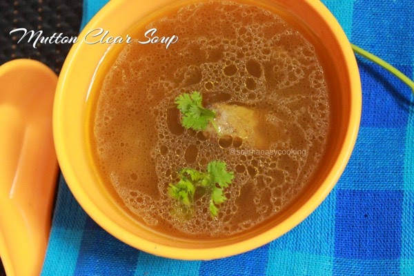 Mutton Clear Soup