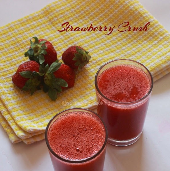 Strawberry Crush/Juice