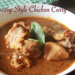 Varuthu Aracha Kozhi Kulambu/Country Style Chicken Curry