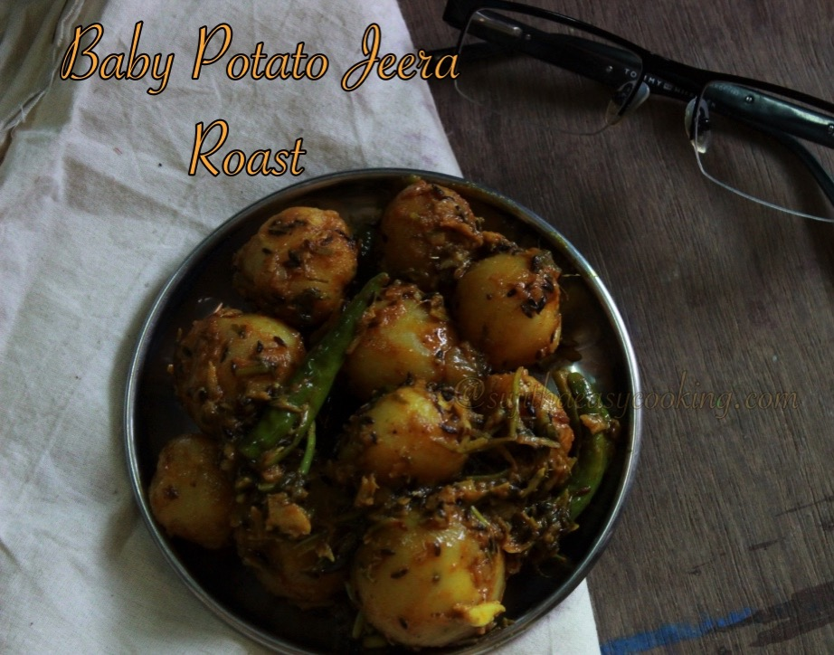 Baby Potato Jeera Roast