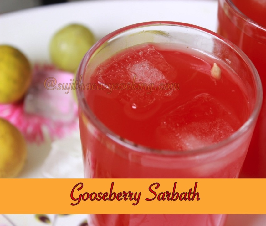 Gooseberry Sarbath
