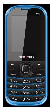 MAXIMUS M12   Price in Bangladesh 1199 Taka