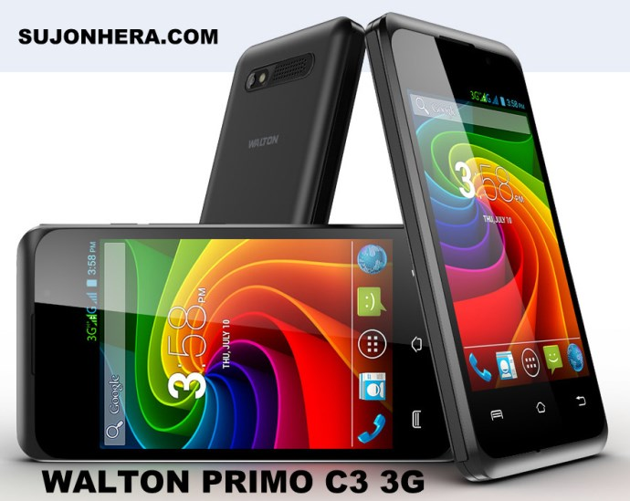Walton Primo C3 3G Android Phone Full Specifications Price