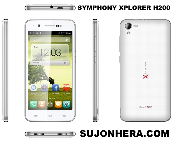 Symphony Xplorer H200 Full Phone Specifications & Price