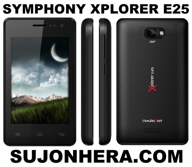 Symphony Xplorer E25 Full Phone Specifications & Price