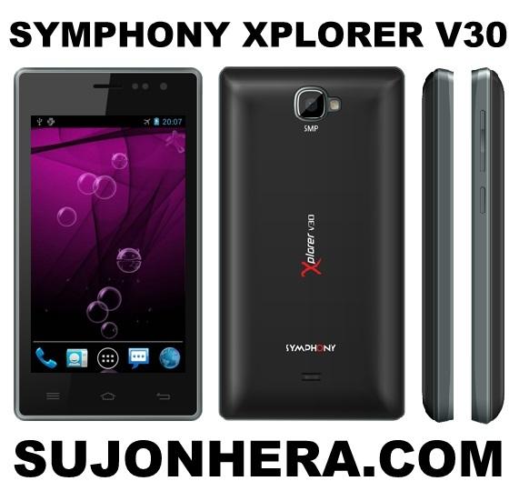 Symphony Xplorer V30 Full Phone Specifications & Price