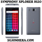Symphony Xplorer H120: Full Phone Specifications & Price