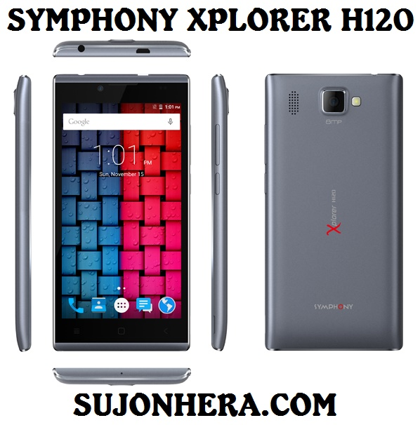 Symphony Xplorer H120 Full Phone Specifications & Price