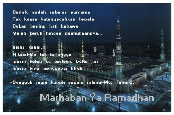 Kata Kata Ramadhan puasa 2013